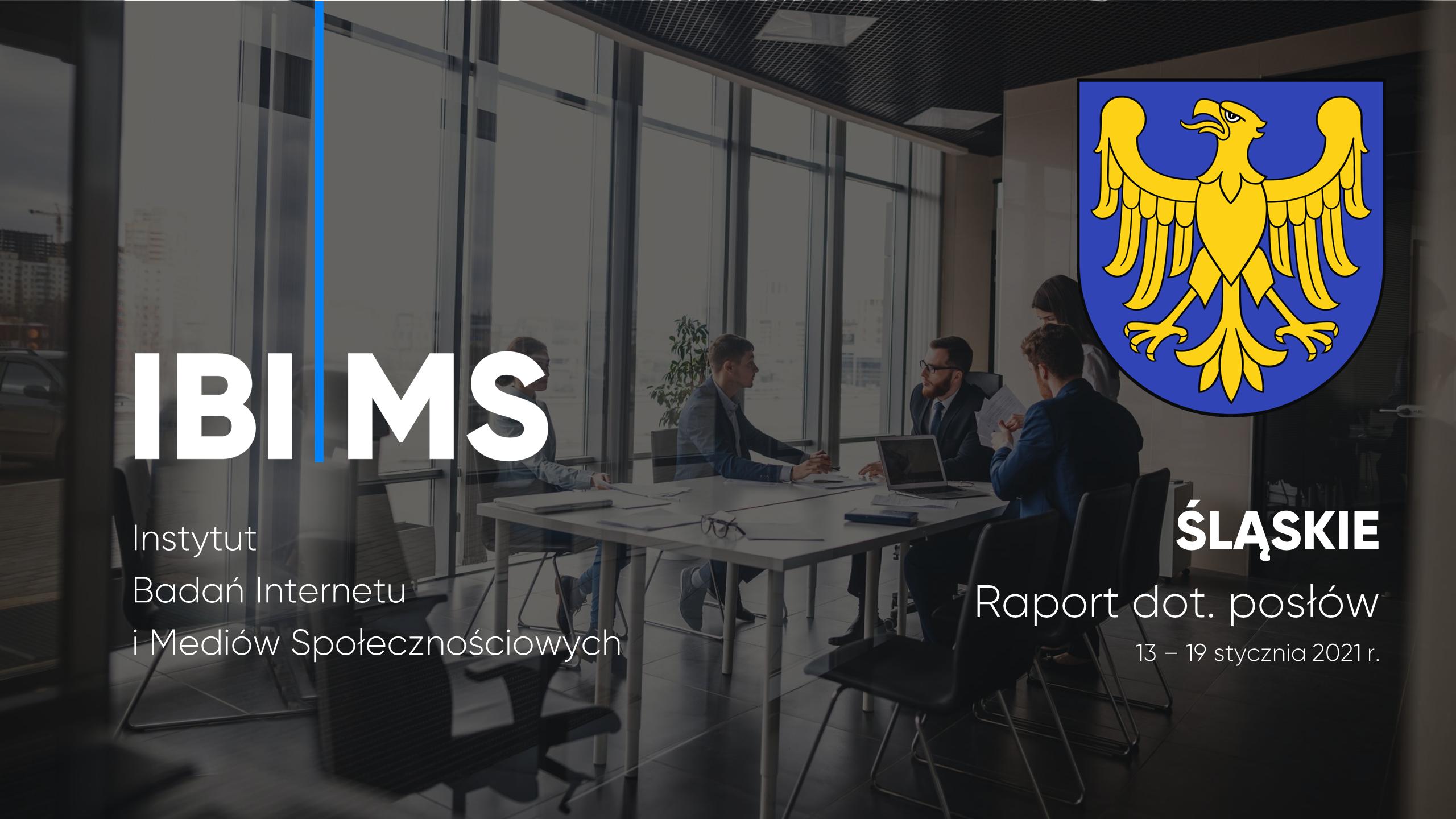 Śląscy posłowie na Facebooku – raport 13-19.01.2021